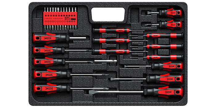 XOOL Professional Screwdriver Set with Case